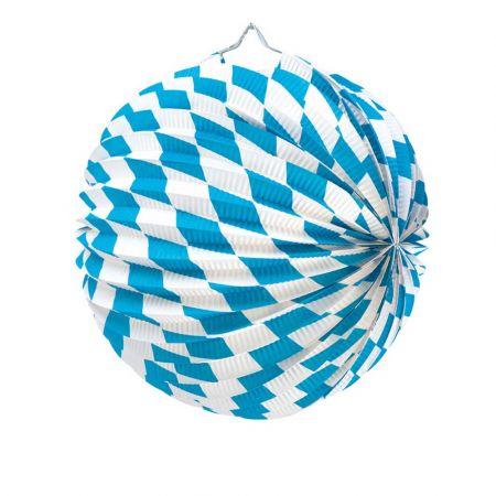 Διακοσμητικό φανάρι - μπάλα Octoberfest 25cm