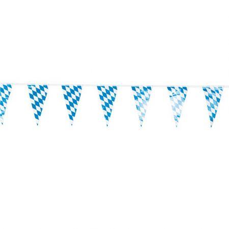 Διακοσμητική γιρλάντα με σημαιάκια Octoberfest 400cm