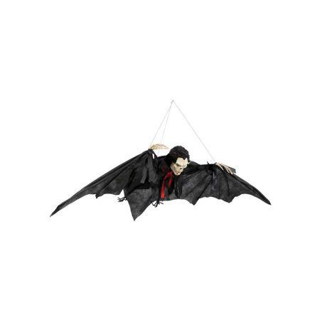 XL Διακοσμητική νυχτερίδα με κεφάλι σκελετό 80x60m