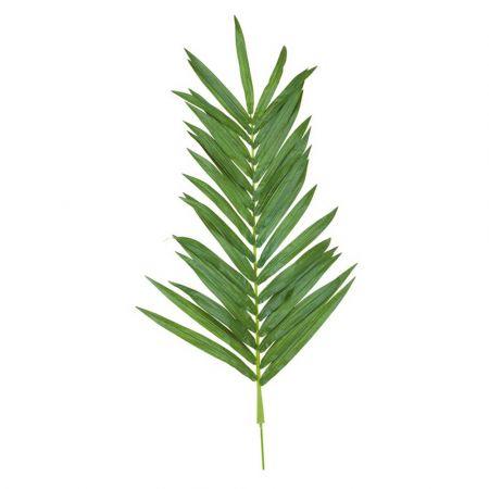Διακοσμητικό φύλλο φοίνικα Πράσινο 120cm