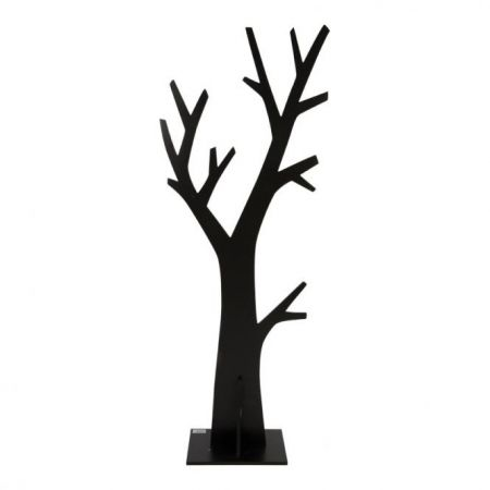Ξύλινη φιγούρα δέντρου Μαύρο 150x60cm