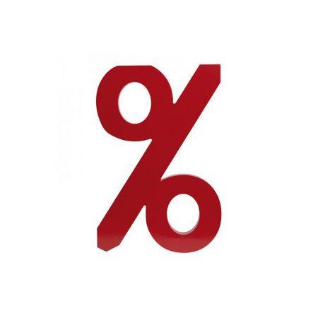 Διακοσμητικό σύμβολο % 30x20 cm