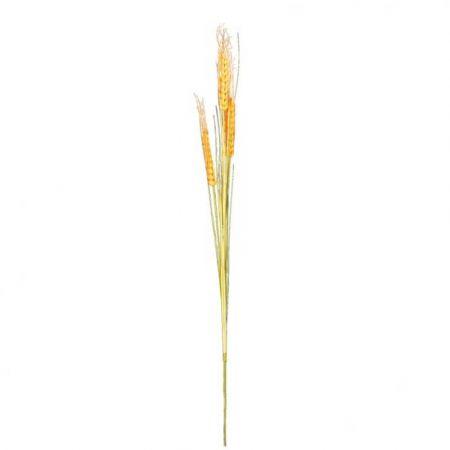Διακοσμητικό τεχνητό στάχυ Κίτρινο 120cm