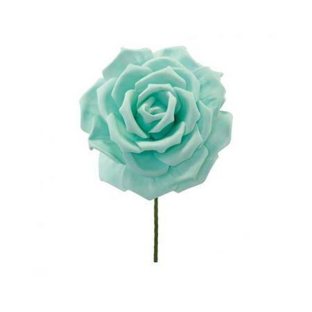 XL Διακοσμητικό άνθος τριαντάφυλλου foam Βεραμάν 30cm