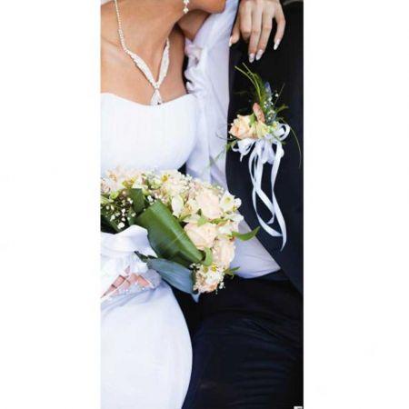 Διακοσμητική αφίσα γάμου 90x190cm