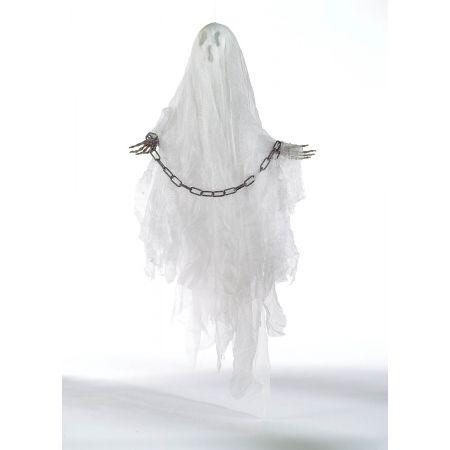 Διακοσμητικό φάντασμα φωτεινό με ήχο 50x35cm