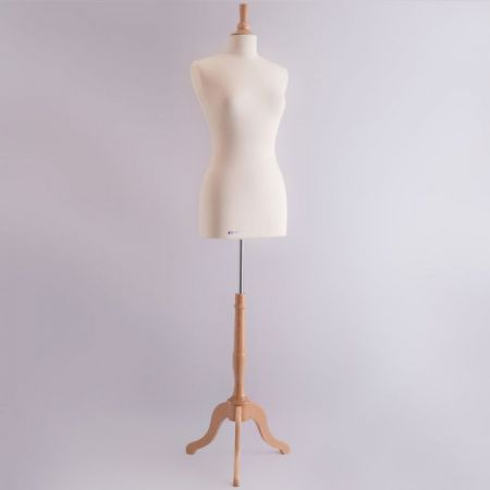 City Collection Γυναικείο Μπούστο Ραπτικής με Ξύλινη Τρίποδη Βάση και καπάκι (M)