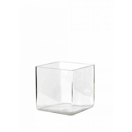 Διακοσμητικό Βάζο-Μπολ Tετράγωνο 25x25x25cm