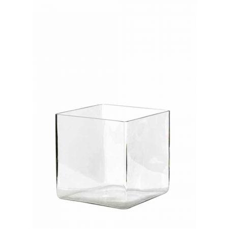 Διακοσμητικό Βάζο-Μπολ Tετράγωνο 30x30x30cm