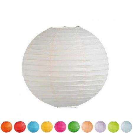 Διακοσμητικό φανάρι - μπάλα (σε 11 χρώματα) 60cm