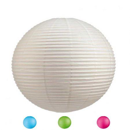 Διακοσμητικό φανάρι - μπάλα (σε 4 χρώματα) 90cm