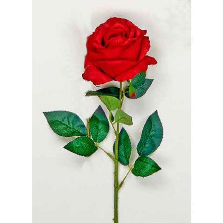 Διακοσμητικό τριαντάφυλλο - κόκκινο 66cm