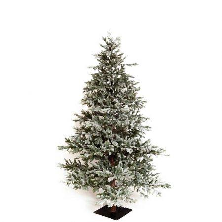 Χριστουγεννιάτικο δέντρο χιονισμένο με ψηλό κορμό Black Hills - Plastic PE 200cm