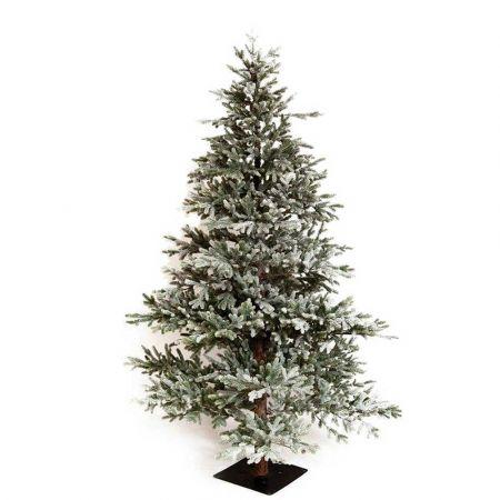 Χριστουγεννιάτικο δέντρο χιονισμένο με ψηλό κορμό Black Hills - Plastic PE 230cm