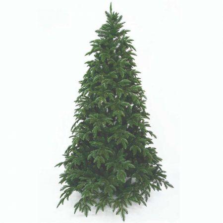 Χριστουγεννιάτικο δέντρο Slim Αριάδνη - PVC PE 270cm