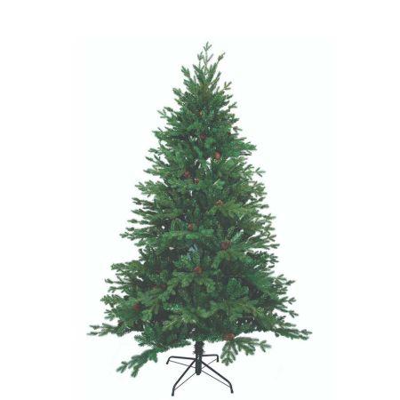 Χριστουγεννιάτικο δέντρο Antonela - PVC PE με κουκουνάρια 210cm