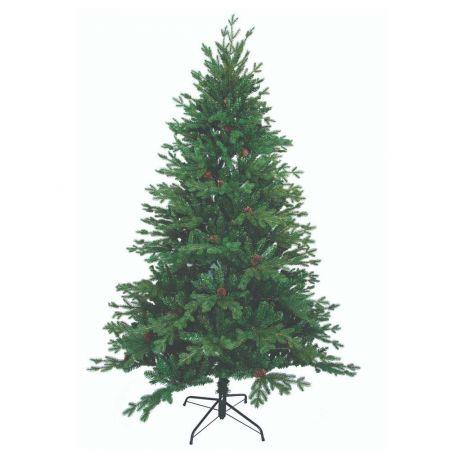 Χριστουγεννιάτικο δέντρο Antonela - PVC PE με κουκουνάρια 240cm