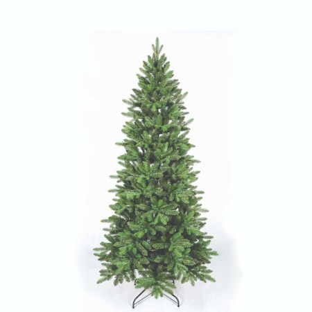 Χριστουγεννιάτικο δέντρο Slim Όλυμπος - PVC PE 210cm