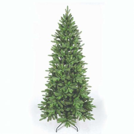 Χριστουγεννιάτικο δέντρο Slim Όλυμπος - PVC PE 240cm