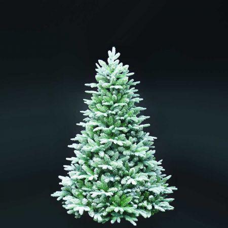 Χριστουγεννιάτικο δέντρο - έλατο Χιονισμένο Flocked MIX PVC - PE 180cm