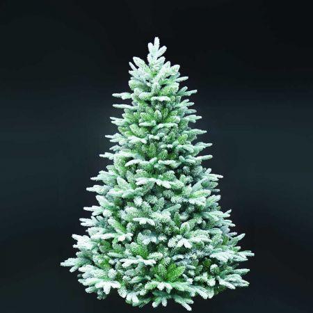 Χριστουγεννιάτικο δέντρο - έλατο Χιονισμένο Flocked MIX PVC - PE 210cm