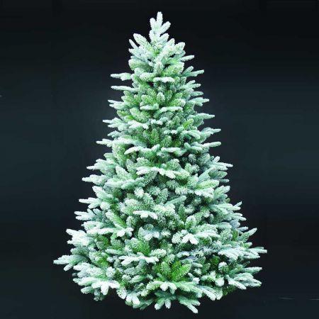 Χριστουγεννιάτικο δέντρο - έλατο Χιονισμένο Flocked MIX PVC - PE 240cm