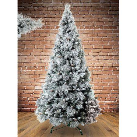 Χριστουγεννιάτικο δέντρο - έλατο Χιονισμένο Βοράς MIX PVC - PE 210cm