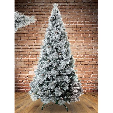 Χριστουγεννιάτικο δέντρο - έλατο Χιονισμένο Βοράς MIX PVC - PE 270cm