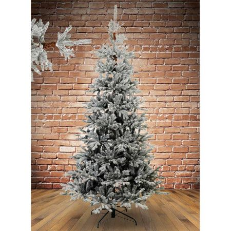 Χριστουγεννιάτικο δέντρο - έλατο Χιονισμένο Ψηλορείτης Plastic PE 180cm
