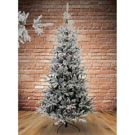 Χριστουγεννιάτικο δέντρο χιονισμένο Ψηλορείτης Plastic PE 210cm