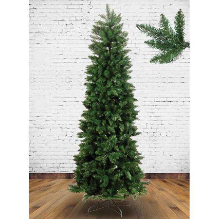Χριστουγεννιάτικο δέντρο - έλατο Τύμφη Slim PVC 210cm