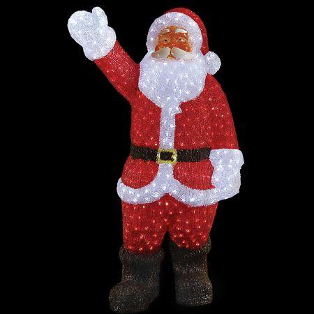 Διακοσμητικός φωτεινός Άγιος Βασίλης 1300LED 180cm