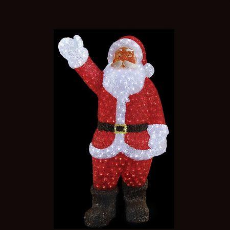 Διακοσμητικός φωτεινός Άγιος Βασίλης 700LED 120m