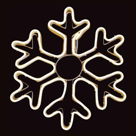 Χιονονιφάδα LED Neon IP44 53cm