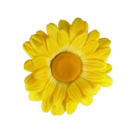 Διακοσμητική ανοιξιάτικη μαργαρίτα Κίτρινο 40cm