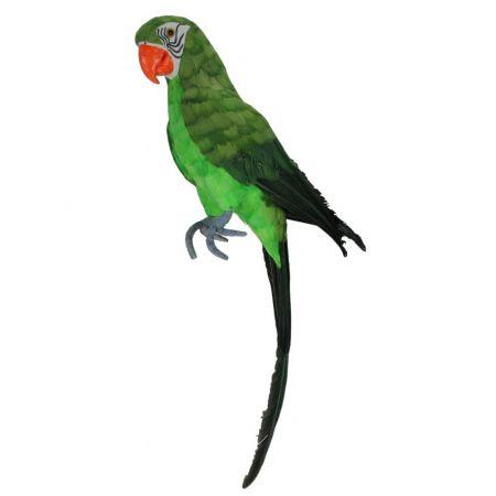 Διακοσμητικός παπαγάλος πράσινος 67cm