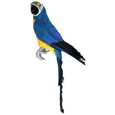 Διακοσμητικός παπαγάλος Μπλε 42cm