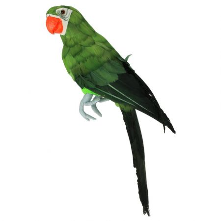 Διακοσμητικός παπαγάλος Πράσινος 42cm
