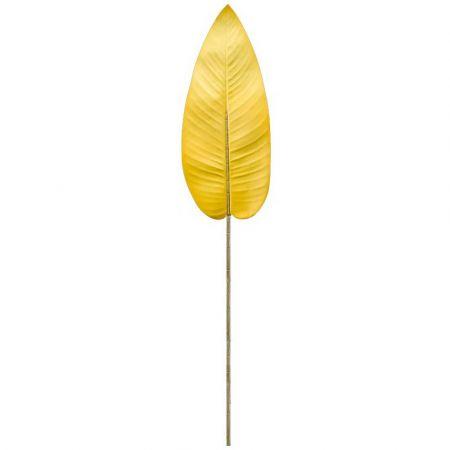 Διακοσμητικό φύλλο Μπανανιάς Κίτρινο 100cm