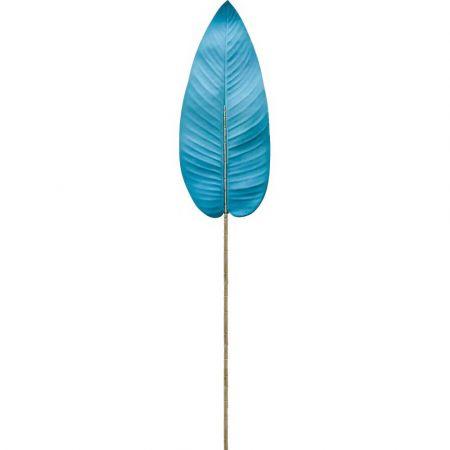 Διακοσμητικό φύλλο Μπανανιάς Γαλάζιο 100cm