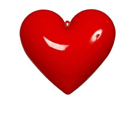 Καρδιά Βαλεντίνου πλαστική Κόκκινη 20cm