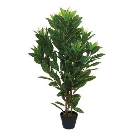 Real Touch Διακοσμητικό Τεχνητό φυτό Μαγνόλια σε γλάστρα 110cm