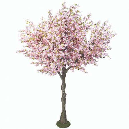 Τεχνητό φυτό Κερασιά με Λευκά άνθη σε γλάστρα 300cm