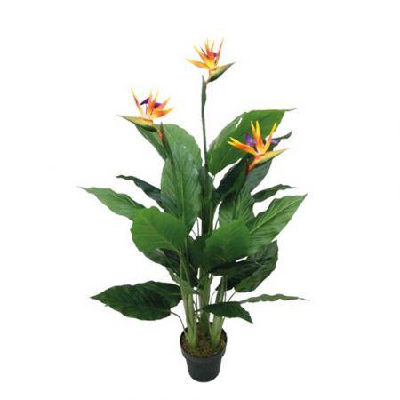Τεχνητό φυτό Στρελίτζια σε γλάστρα 130cm