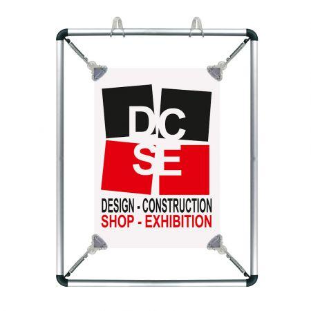 Πλαίσιο Ανάρτησης Αφίσας Stretch Frame 48x65,4cm - A2