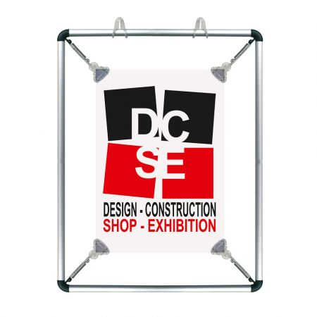 Πλαίσιο Ανάρτησης Αφίσας Stretch Frame 27x35,7cm - A4