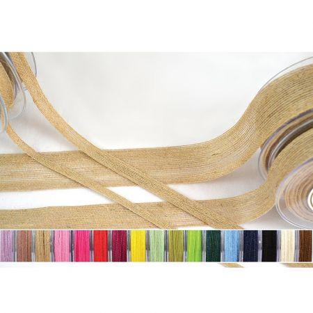 Διακοσμητική κορδέλα ΓΙΟΥΤΑ Φούξια 6mmx18.2m