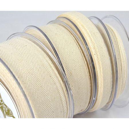 Διακοσμητική κορδέλα ΨΑΡΟΚΟΚKΑΛΟ Φυσικό 6mmx23m - 1.3cmx18.2m - 2.5cm / 3.8cmx9m