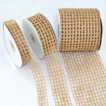 Διακοσμητική κορδέλα Δίχτυ 2.5cm / 3.8cm / 10cmx9m