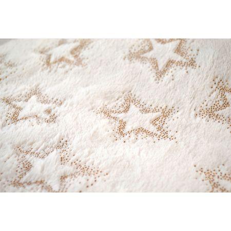 Χριστουγεννιάτικο ύφασμα ΓΟΥΝΑΚΙ STARSHINE Λευκό 50cmx3m